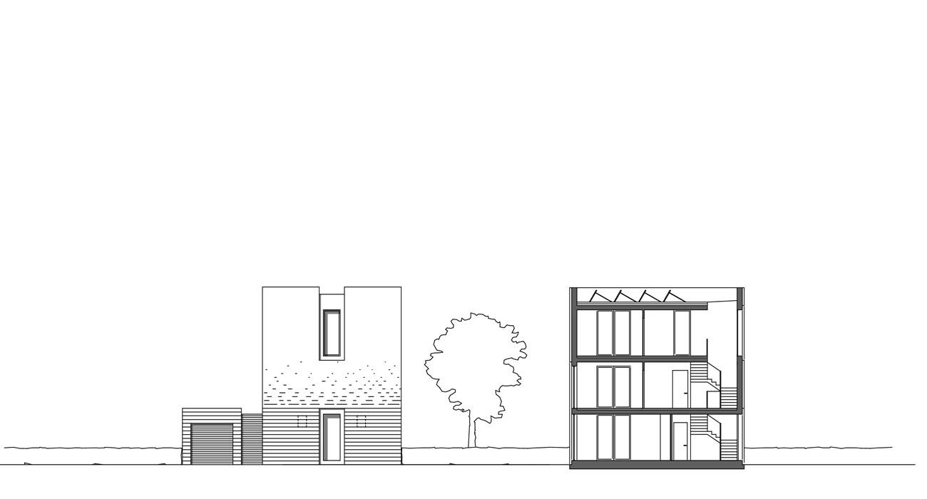 Architektur-Stadtvillen-Bremen-04-Ansicht-Schnitt-TypA-2009