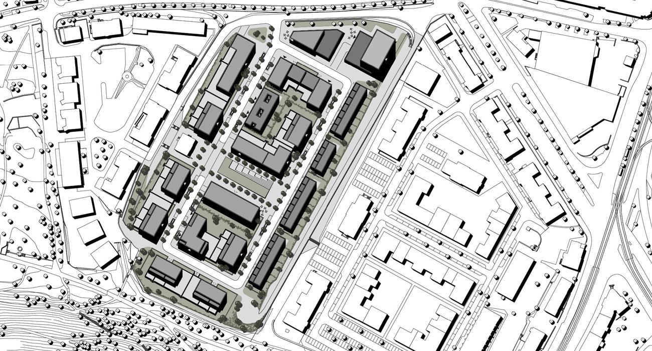 Städtebau-Kassel-01-Lageplan-2014