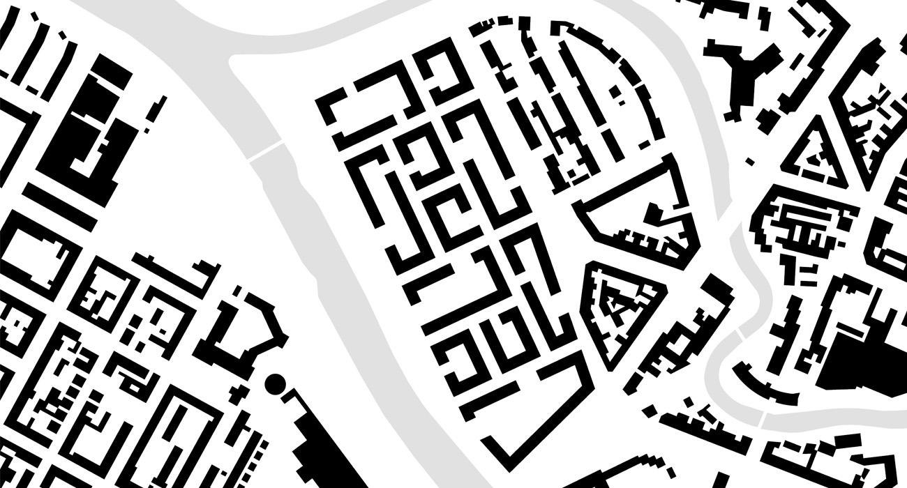 Städtebau-Zwischengrünraum-04-Schwarzplan-Neuplanung-2010