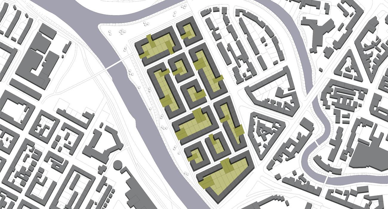 Städtebau-Zwischengrünraum-05-Lageplan-Neuplanung-2010